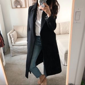 Black WARM Coat 0/XS